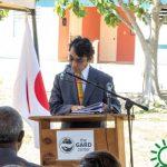 Japanese Second Secretary @ podium