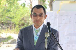 Takafumi Ura giving Japanese Completion speech